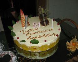 Le Cheval Blanc - Clef-Vallée-d'Eure  - Quelques gâteaux de cérémonie